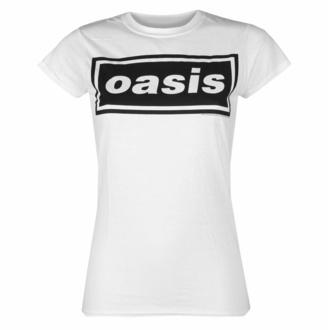 Ženska majica Oasis - Decca Logo - Bela, NNM, Oasis
