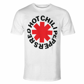 Moška majica Red Hot Chili Peppers - Red Asterisk - Bela, NNM, Red Hot Chili Peppers