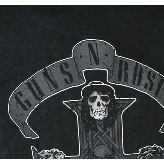 Moška majica Guns N' Roses - Monochrome Cross - BL Dip-Dye - ROCK OFF, ROCK OFF, Guns N' Roses