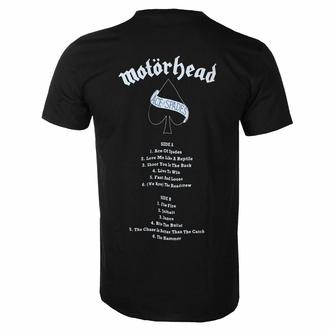 Moška majica Motörhead - Ace Of Spades - Tracklist BL - ROCK OFF, ROCK OFF, Motörhead