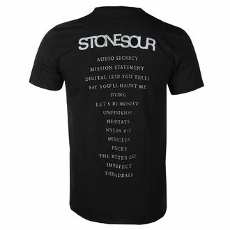 Moška majica Stone Sour - Audio Secrecy Square BL - ROCK OFF, ROCK OFF, Stone Sour