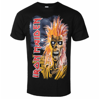 Moška majica Iron Maiden - First Album Tracklist V3 BL - ROCK OFF, ROCK OFF, Iron Maiden