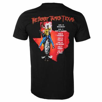 Moška majica Iron Maiden - The Beast Tames Texas BL - ROCK OFF, ROCK OFF, Iron Maiden