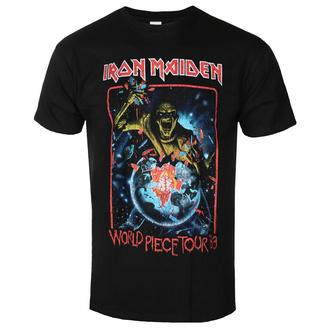 Moška majica Iron Maiden - World Piece To ur '83 V1 BL - ROCK OFF, ROCK OFF, Iron Maiden