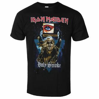 Moška majica Iron Maiden - Holy Smoke Space Triangle BL - ROCK OFF, ROCK OFF, Iron Maiden