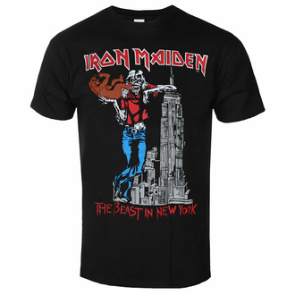 Moška majica Iron Maiden - The Beast In New York BL - ROCK OFF, ROCK OFF, Iron Maiden