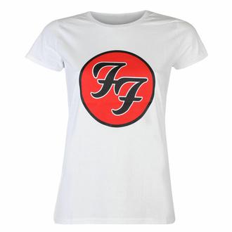 Ženska majica Foo Fighters - Logo WHT - ROCK OFF, ROCK OFF, Foo Fighters