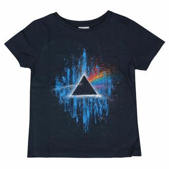 Otroška majica Pink Floyd - DSOTM Blue Splatter NAVY - ROCK OFF, ROCK OFF, Pink Floyd