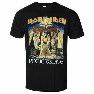 Moška majica Iron Maiden - Powerslave World Slavery To ur BL - ROCK OFF, ROCK OFF, Iron Maiden