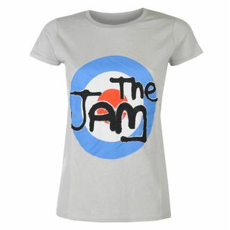 Ženska majica The Jam Spray Target Logo GREY - ROCK OFF, ROCK OFF