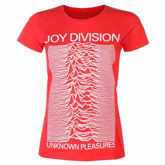 Ženska majica Joy Division - Unknown Pleasures FP RED - ROCK OFF, ROCK OFF, Joy Division