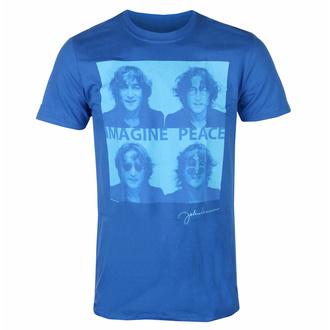 Moška majica John Lennon - Glasses 4 Up BLUE - ROCK OFF, ROCK OFF, John Lennon