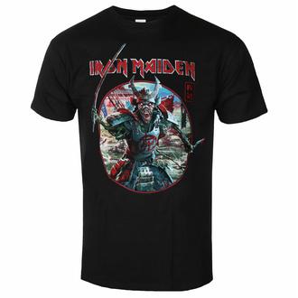 Moška majica Iron Maiden - Eddie Warrior Circle BL - ROCK OFF, ROCK OFF, Iron Maiden