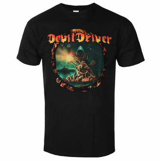 Moška majica Devildriver - Dealing with Demons - Črna, NNM, Devildriver