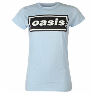 Ženska majica Oasis - Decca Logo Sky Blue, NNM, Oasis
