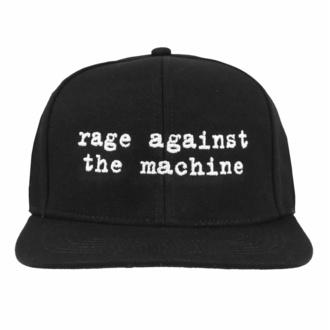 Kapa Rage against the machine - Logo Embroidered Black, NNM, Rage against the machine