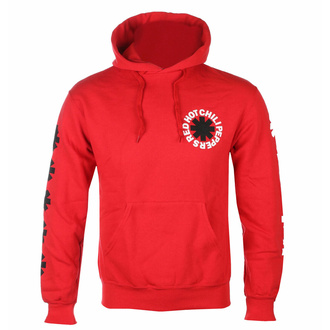 Moški hoodie Red Hot Chili Peppers - Classic B&W Asterisk Red, NNM, Red Hot Chili Peppers