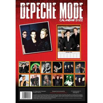 Koledar za 2022 - DEPECHE MODE, NNM, Depeche Mode