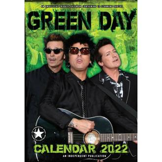 Koledar za 2022 GREEN DAY, NNM, Green Day
