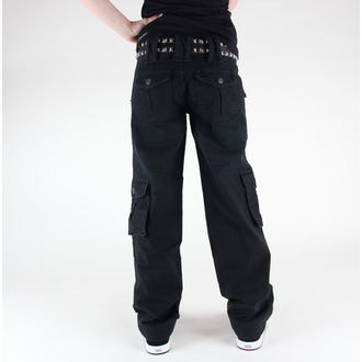 hlače ženske SURPLUS - LADIES Trouser - 33-3587-63 - BLACK