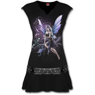 Ženska obleka SPIRAL - DRAGON KEEPER - Črna, SPIRAL