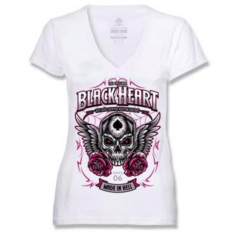 Ženska ulična majica - ROYAL - BLACK HEART, BLACK HEART