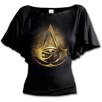 Ženska filmska majica Assassin's Creed - ORIGINS LOGO - SPIRAL, SPIRAL