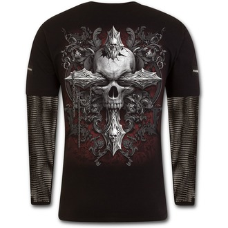 Moška majica - CROSS OF DARKNESS - SPIRAL - D077M321