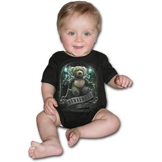 Otroški bodi SPIRAL - FRANKENTED - Črn, SPIRAL