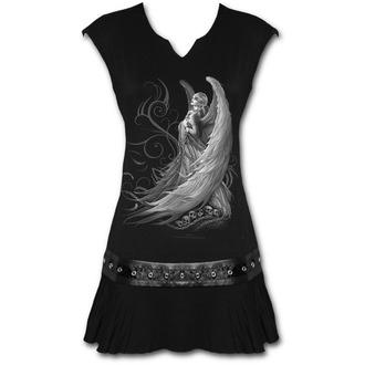 Ženska obleka SPIRAL - CAPTIVE SPIRIT - Črna, SPIRAL