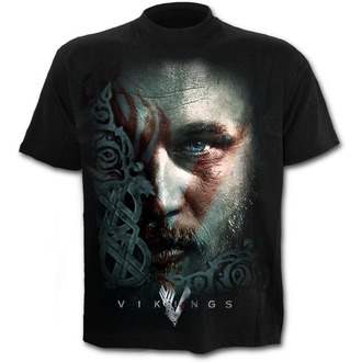 Moška filmska majica Vikingové - RAGNAR FACE - SPIRAL, SPIRAL