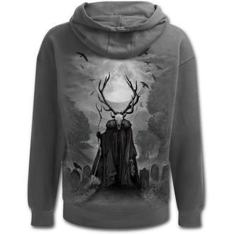 Moški pulover s kapuco - HORNED SPIRIT - SPIRAL, SPIRAL