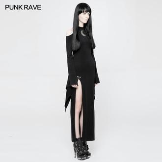 Ženska obleka - PUNK RAVE - Lunaria long Gothic, PUNK RAVE