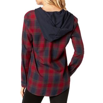 ženska majica FOX - Deny - Temno rdeča, FOX