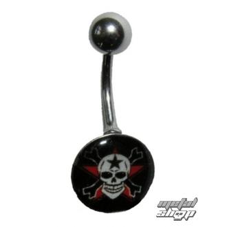 piercing dragulj Lobanja - 1PCS - L 096, NNM