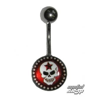piercing dragulj Lobanja - 1PCS - L 090, NNM