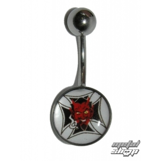 piercing dragulj Hudič - 1PCS - L 118, NNM