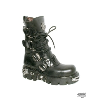 čevlji usnje - Ring Čevlji (575-S1) Črno - NEW ROCK