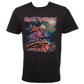 moška metal majica Iron Maiden - RUN TO THE HILLS - AMPLIFIED, AMPLIFIED, Iron Maiden