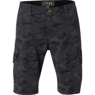 Kratke hlače Moški FOX - Slambozo Camo Cargo - Črno Camo, FOX