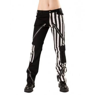 hlače moški Black Pistol - Čudak Hlače Stripe Črnobela - B-1-21-319-01