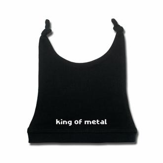 Otroška kapica King of metal - črna - bela - Metal-Kids, Metal-Kids
