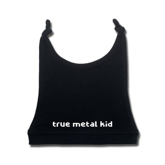 Otroški klobuk true metal kid v beli - black - Metal-Kids, Metal-Kids