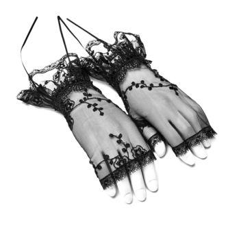 Brezprstne rokavice/ grelniki zapestja PUNK RAVE - Gothic Lily, PUNK RAVE