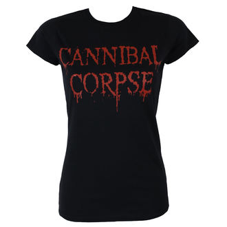 Metal majica ženske Cannibal Corpse - DRIPPING LOGO - PLASTIC HEAD, PLASTIC HEAD, Cannibal Corpse