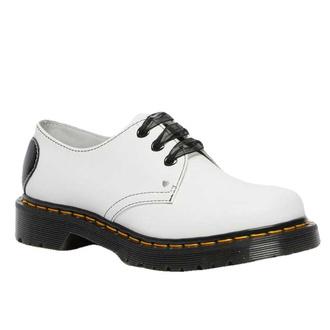 Ženski čevlji DR. MARTENS - 1461 Hearts - bela / črna, Dr. Martens
