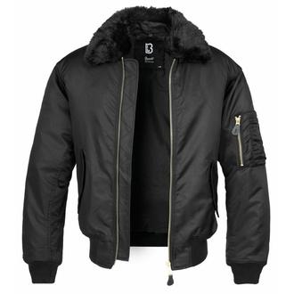 Moška bomber jakna (zimska) BRANDIT - MA2 Jacket Fur Collar - 3175-black