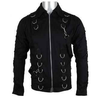 majica moški Aderlass - vrh Kartica Denim Črno, ADERLASS