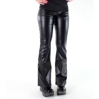 hlače ženske Mode Wichtig - Bell Bottom Sky Black, MODE WICHTIG