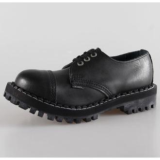 usnje čevlji ženske - - STEEL - 101/102 Črno